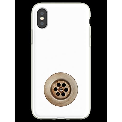 Waschbecken Abfluss Flexible Hülle für iPhone XS