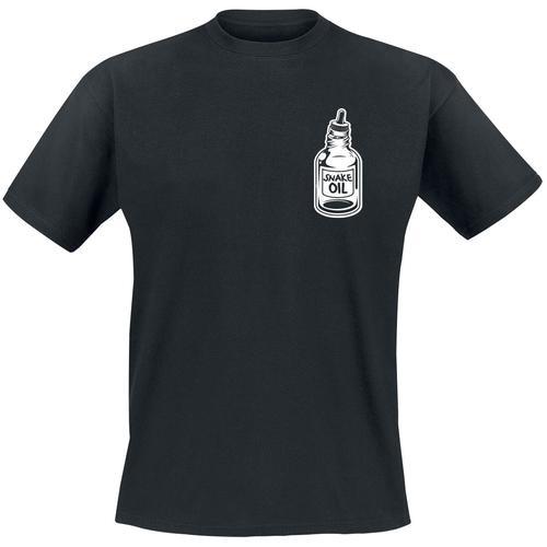 The bearded Phil Beard Oil Herren-T-Shirt - schwarz