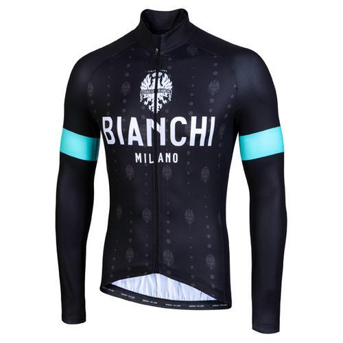 Bianchi Milano - Perticara - Radtrikot Gr XL schwarz