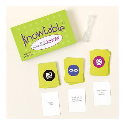Knowtable Get-to-Know-You Card Game