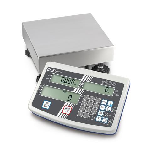 KERN Industriewaage Max 3000 g: 6000 g: d=0,1 g: 0,2 g IFS 6K-4S