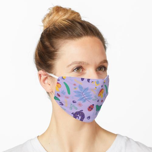 Waldboden (Lavendel) Maske