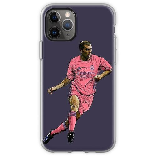 Zidane mit Madrid-Trikot 2020-2021 Flexible Hülle für iPhone 11 Pro