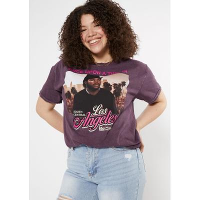 Rue21 Womens Plus Size Purple Once Upon A Time Boyz N The Hood Graphic Tee - Size 2X