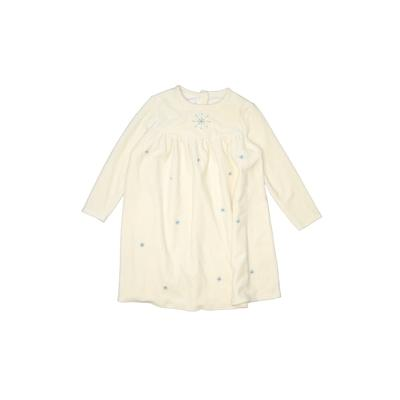 Bitty Baby by American Girl Dress - Shift: Ivory Solid Skirts & Dresses - Used - Size 6