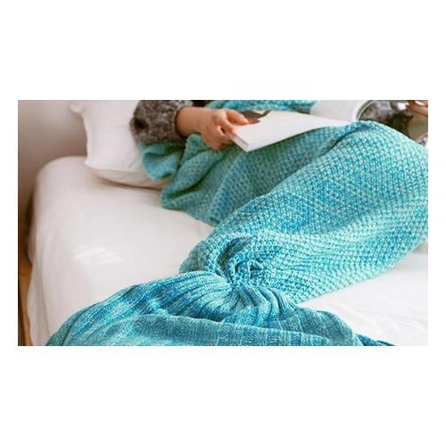 Meerjungfrau-Decke: Rosa