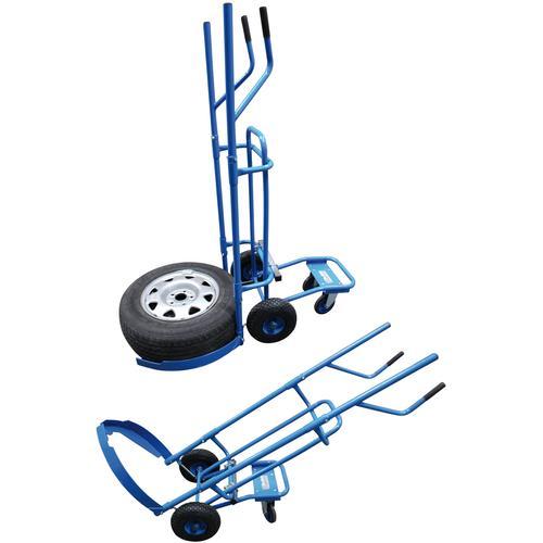 BGS Sackkarre Reifen-Transportwagen blau Sackkarren Transport Werkzeug Maschinen