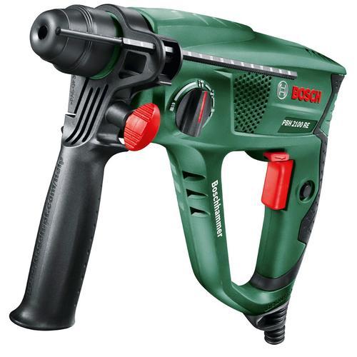 BOSCH Bohrhammer PBH 2100 RE grün Bohrhämmer Werkzeug Maschinen
