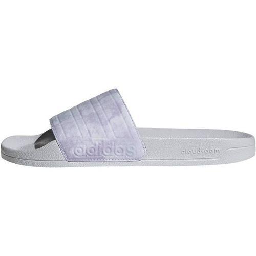 ADIDAS Damen Adilette Shower Adilette, Größe 40 ⅔ in Silber