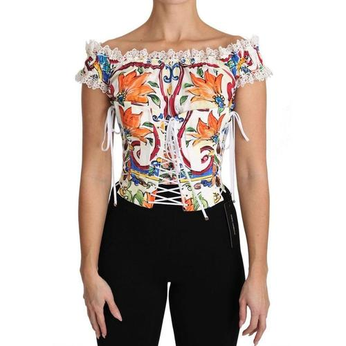 Dolce & Gabbana Majolika Bluse