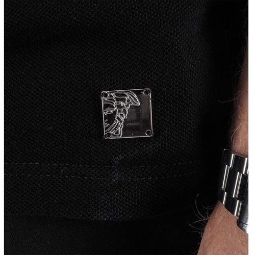 Versace Poloshirt mit Stickerei