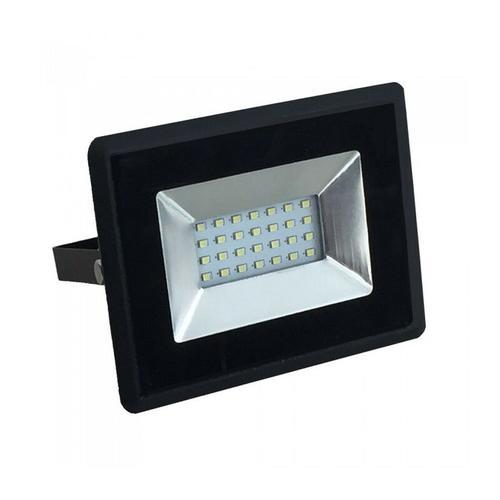 LED Fluter 20W Schwarz IP65 Outdoor | Farbtemperatur: Kühles Weiß 6400K