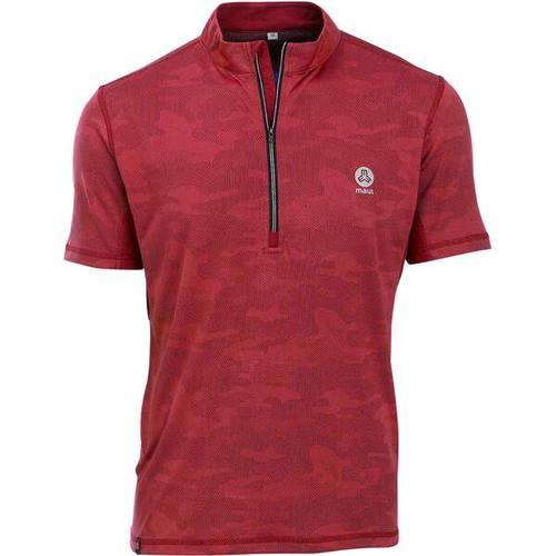 MAUL Herren Fichtelberg-1/2 RV-Shirt, Größe 48 in rot
