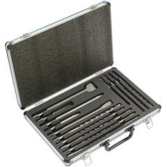 Makita Bohrer- und Meißelsatz B-64680, (17 tlg.) schwarz Profi-Werkzeug Werkzeug Maschinen