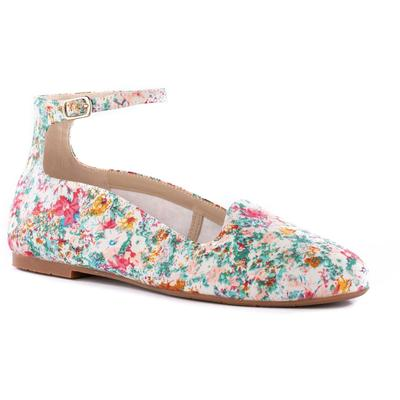 Found You Ankle Strap Flat - Blue - BC Footwear Flats