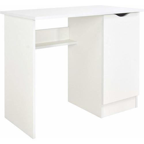 Weiß Kinderschreibtisch - ROMA - Möbel für Kinderzimmer WHITE