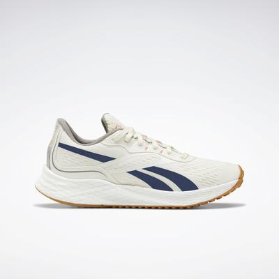 Reebok Women's Floatride Energy Grow Running Shoes in Classic White/Brave Blue/Boulder Grey Size 8.5 - Running Shoes