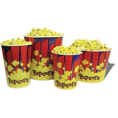 Winco 41485 85 oz Popcorn Tub - 7