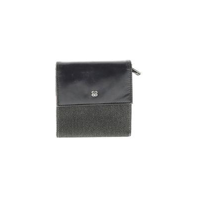 Bosca - Bosca Wallet: Black Solid Bags