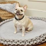 Trisha Yearwood Pet Collection Braided Dog Bed, Grey, X-Large