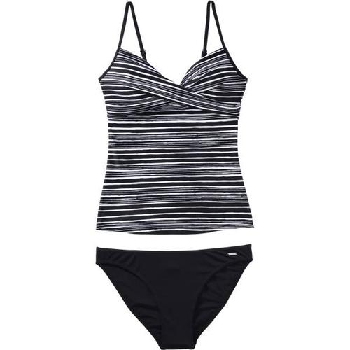 etirel Damen Bikini D-Tankini Desiree, Größe 42C/D in Black