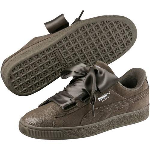 Puma Damen Sneaker Suede Heart Bubble Wn, Größe 39 in BUNGEE CORD-BUNGEE CORD