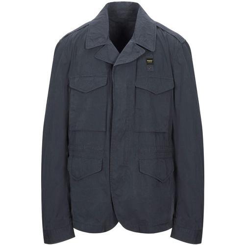 Blauer Jacke