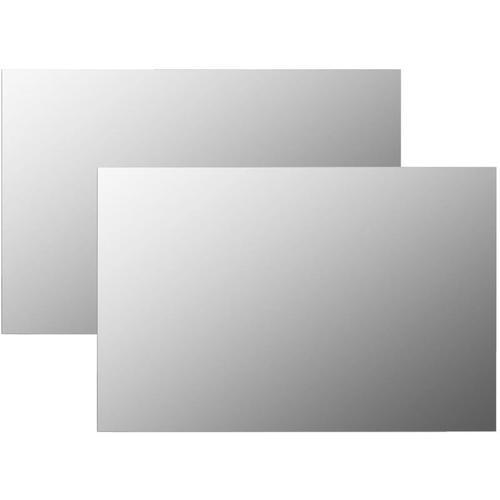 Wandspiegel 2 Stk. 60 x 40 cm Rechteckig Glas