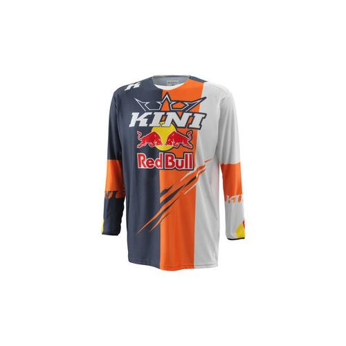 Kini Red Bull Competition Jersey grau XXL