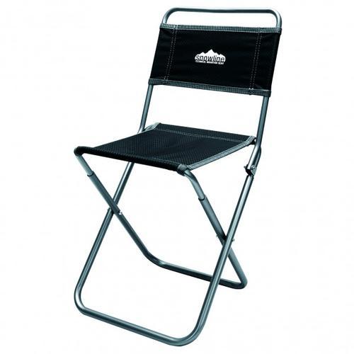 Snowline - Klappstuhl Alpine Slim Chair XL - Campingstuhl schwarz/grau