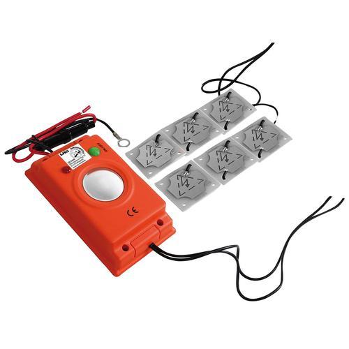 LAS Ultraschall-Tierabwehr, zur Vermeidung von Marderschäden orange Marderschreck Autozubehör Reifen Ultraschall-Tierabwehr