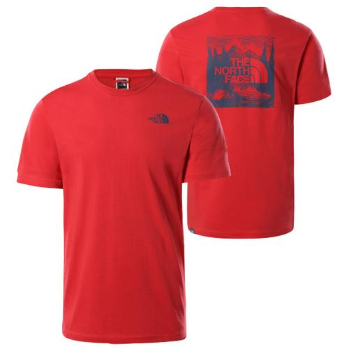 The North Face - S/S Redbox Celebration Tee - T-Shirt Gr XXL rot