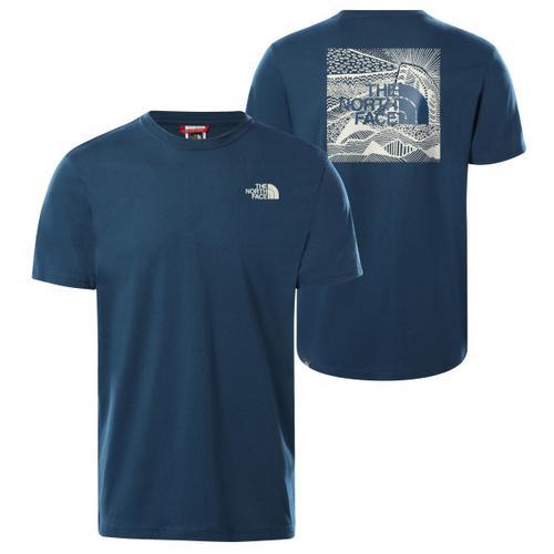 The North Face - S/S Redbox Celebration Tee - T-Shirt Gr L blau