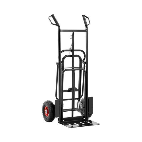 MSW Sackkarre - bis 180 kg - klappbar - Stützräder MSW-HT-180