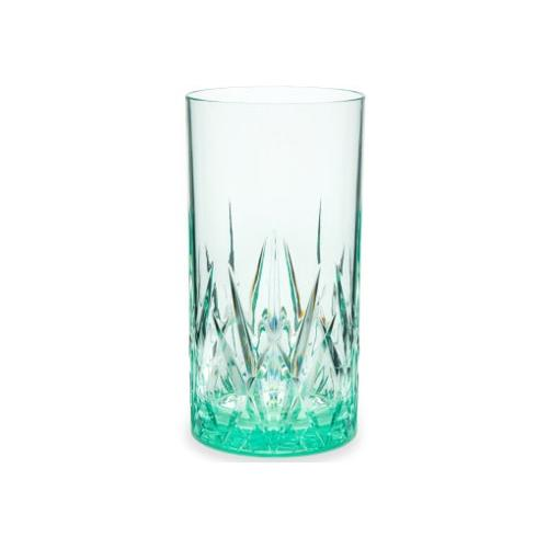 Q Squared NYC Longdrinkglas, (Set, 6 tlg., x Gläser), aus sicherem Material - TRITAN-Kunststoff, 500 ml, 6-teilig grün Cocktailgläser Longdrinkgläser Gläser Glaswaren Haushaltswaren Longdrinkglas
