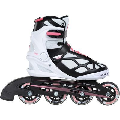 Playlife Inlineskates Uno Pink 80 schwarz Inlinern Skaten Sportarten