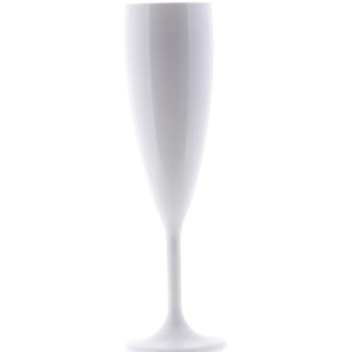 Q Squared NYC Champagnerglas, (Set, 12 tlg., x Gläser), Polycabonat, 140 ml weiß Sektgläser Champagnergläser Gläser Glaswaren Haushaltswaren Champagnerglas