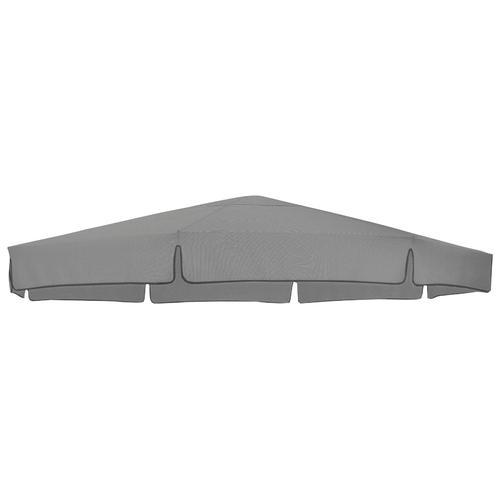 sungarden Ersatzschirmbespannung, Ø 350 cm, rund grau Ersatzschirmbespannung Sonnenschirme -segel Gartenmöbel Gartendeko