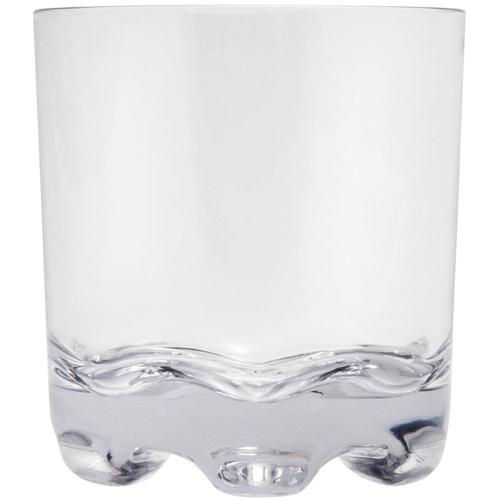 Q Squared NYC Whiskyglas, (Set, 6 tlg., x Gläser), 300 ml farblos Whiskygläser Gläser Glaswaren Haushaltswaren Whiskyglas