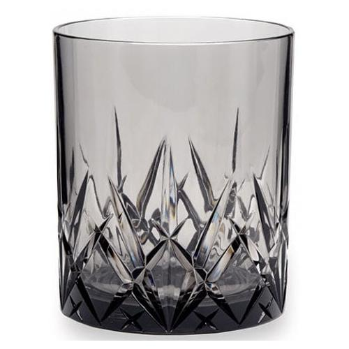 Q Squared NYC Whiskyglas, (Set, 3 tlg., x Gläser), aus sicherem Material - TRITAN-Kunststoff, 300 ml farblos Whiskygläser Gläser Glaswaren Haushaltswaren Whiskyglas