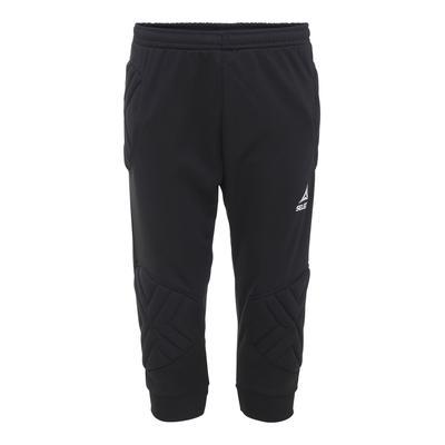 Select Kansas Adult 3/4 Soccer Goalie Pants Black