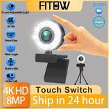 Taida – Webcam HD 1080P 2K 4K av...