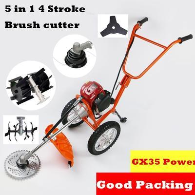 Débroussailleuse multi-outils 5 en 1, coupe-herbe, moteur GX35 à 4 temps, Mini-fraise, nouvelle