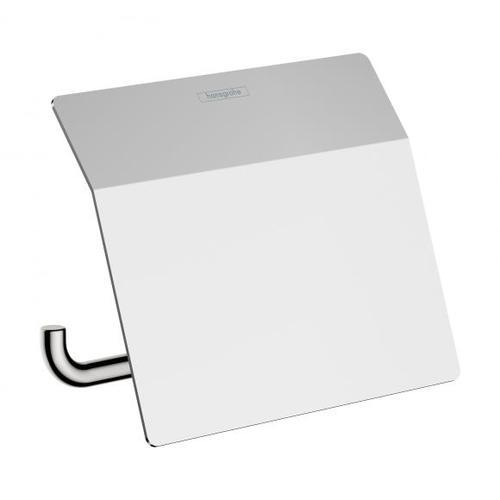 Hansgrohe AddStoris Toilettenpapierhalter mit Deckel B: 153 H: 86 T: 116 mm chrom 41753000