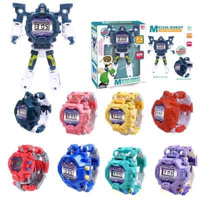 Déformation Robot montre enfants...