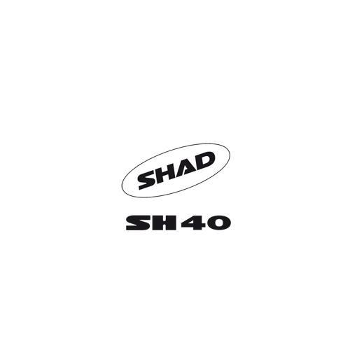 SHAD SH40 SHAD AUFKLEBER 2011