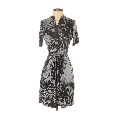 INTERMISSION - INTERMISSION Casual Dress - Shirtdress: Black Dresses - Used - Size 4