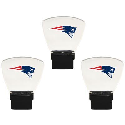 New England Patriots 3-Pack Nightlight Bundle - Navy
