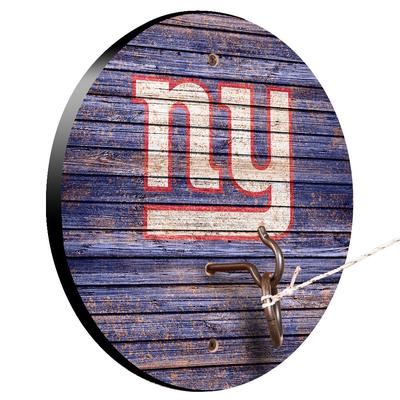 New York Giants Weathered Design Hook and Ring Game