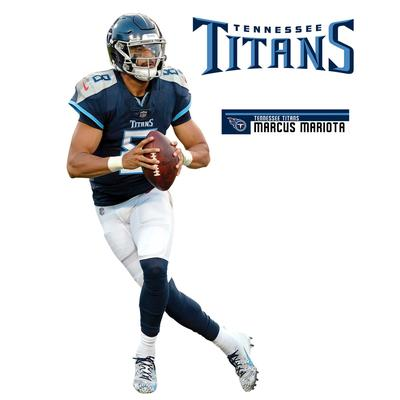 Fathead Marcus Mariota Tennessee Titans 3-Pack Life-Size Removable Wall Decal